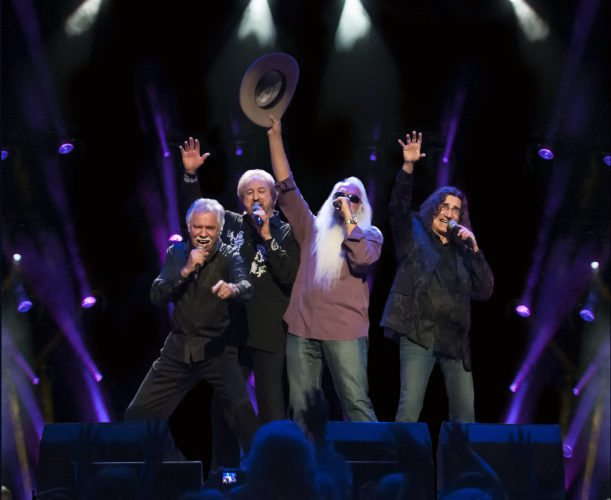 Country Music Hall of Fame 2015 inductees the Oak Ridge Boys will sing some well-known hits and gospel songs at the Shenandoah Valley Music Fest on Saturday.  Photo Courtesy of Shenandoah Valley Music Festival